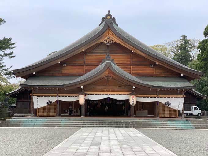 富山市の護国神社