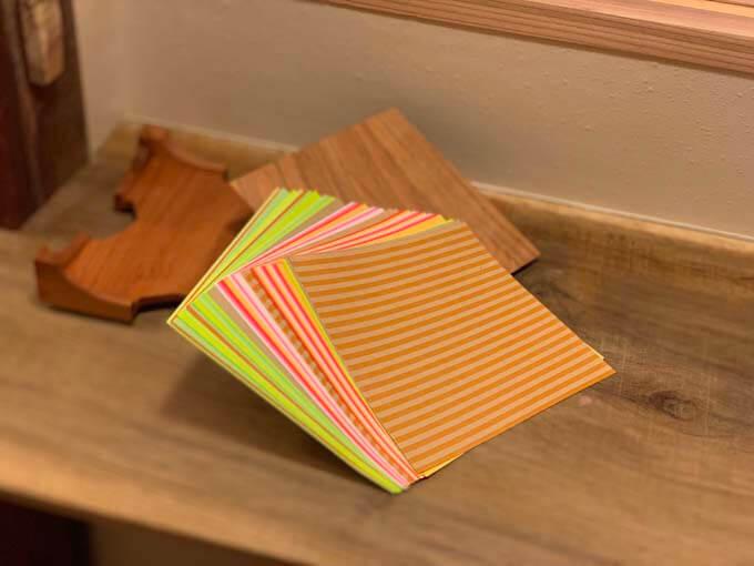 おしゃれ柄の折り紙