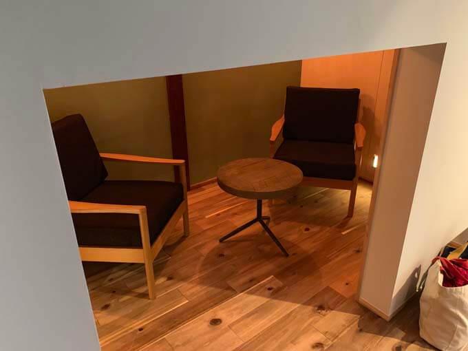 秘密基地的な談話室