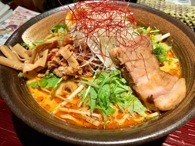 イチオシの特製担々麺