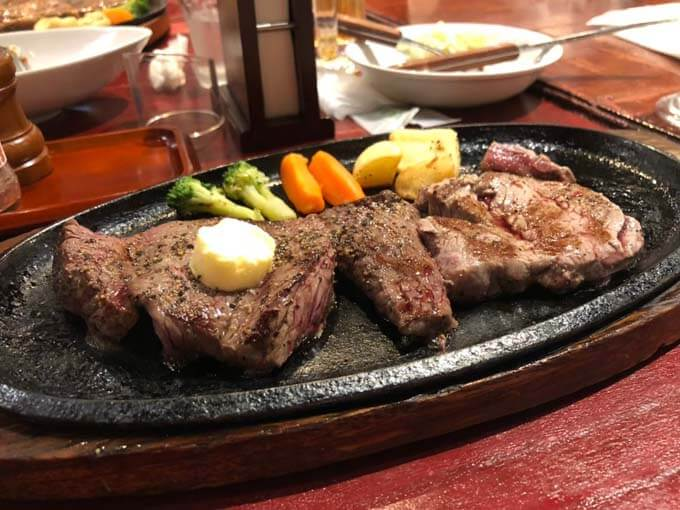 沖縄に来たらステーキは絶対!!